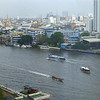View of Chao Phraya River from our hotel