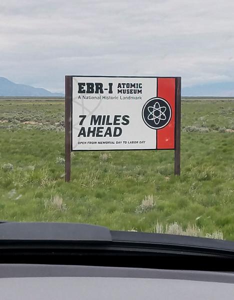 EBR-1 Roadsign