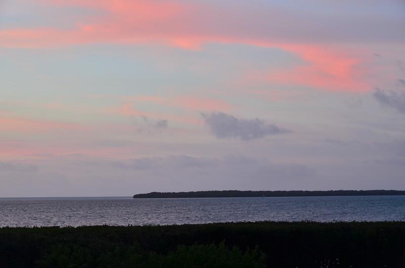 Friday January 23, 2015 sunset.