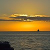 Sunset from Mallory Square, Key West, FL.<br /> January 19, 2015