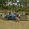 Road Scholar group picnic lunch in Everglades National Park, <br /> January 19, 2015.