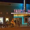 Night photo of the earlier scene in Key West, FL.