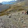 Descending into the Shackleton Valley