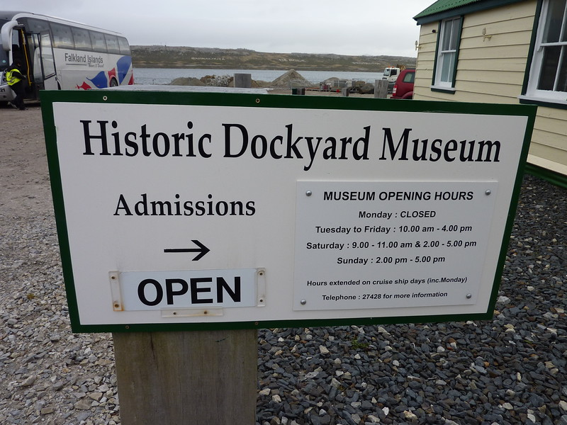We visited the Historic Dockyard Museum the morning that we flew home.