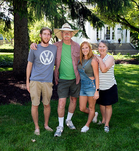 McGinn family in Saugatuck, MI