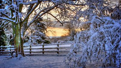 Winter Sunrise, Welsh Newton Common
