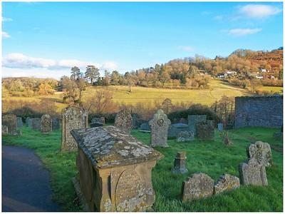 Coppett Hill seen from Goddrich Church