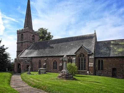 Kings Capel Church. St John the Evangelist