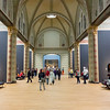 Interior of famous Rijks museum after reconstruction, Amsterdam, Netherlands