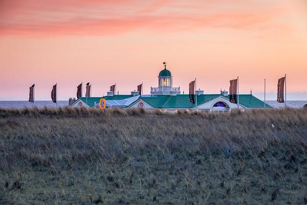 Beach club at Noordwijk aan Zee, Netherlands
