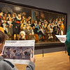 Painting Militia Banquet - The Celebration of the Peace of Münster, artist Bartholomeus van der Helst, Rijks museum, Amsterdam, Netherlands