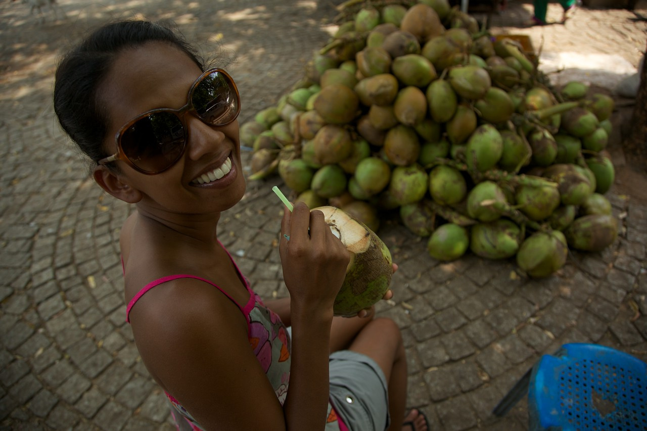 Coconut water break