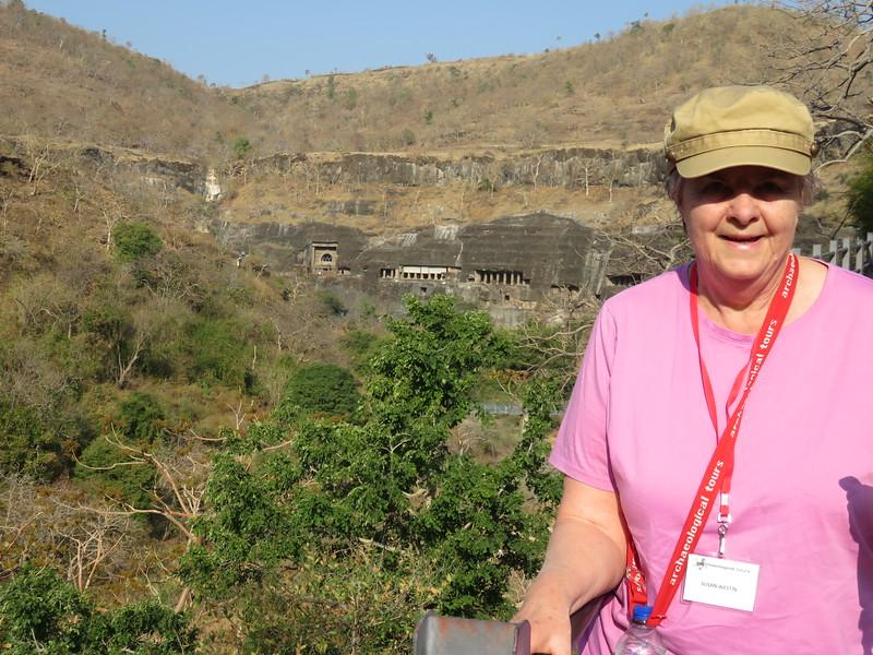 Ajanta Caves, another UNESCO World Heritage Site  near Aurangabad
