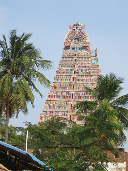 Tiruchirappalli, occupied from the 3rd century by the Chola dynasty, in Tamil Nadu State.
