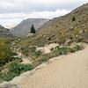 Roxburgh Gorge trail along the Clutha Mta-au river