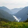 Doubtful Sound from Wilmot Pass