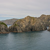 leaving the Sounds for Cook Strait