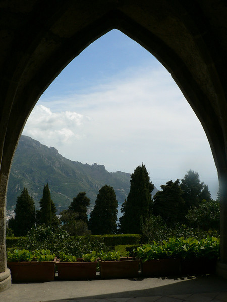 View from the Villa Cimbrone, Ravello