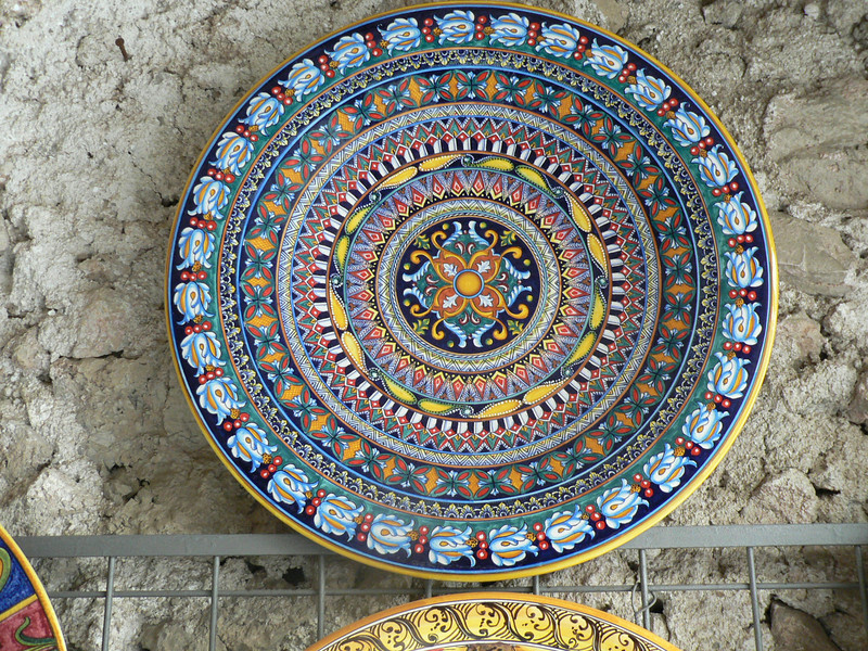 Ravello had a lot of shops selling ceramics