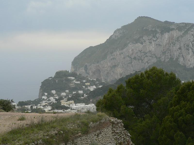 View from Villa Jovis, Capri