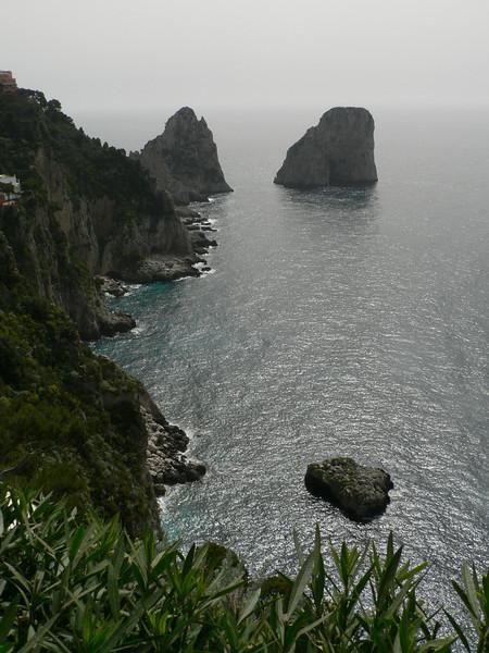 The Faraglione islets