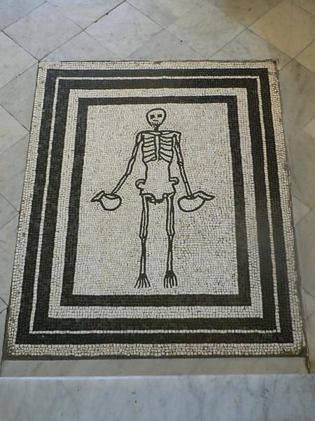 Mosaic at the Villa San Michele