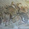 Darius, losing the Battle of Issus, Naples' Archaeology Museum