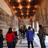 Rome (Musei Capotolini) - both the ceiling and the walls in this room were beautiful!
