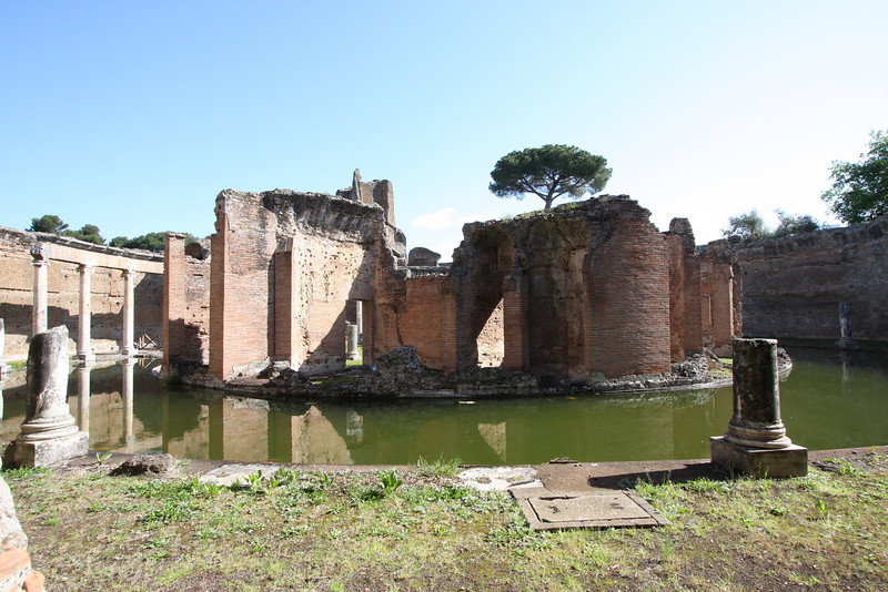 "Hadrian's Villa - this was the ""Naval Theatre"", where the Emperor apparently liked to go when he wanted to have some peace and quiet."