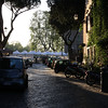 Rome - early morning in the Trastevere area, close to Hotel Casa san Giuseppe (looking toward the river and Piazza Trilussa).