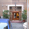 Rome (Trastevere) - the entrance to our excellent Hotel, Casa san Giuseppe.