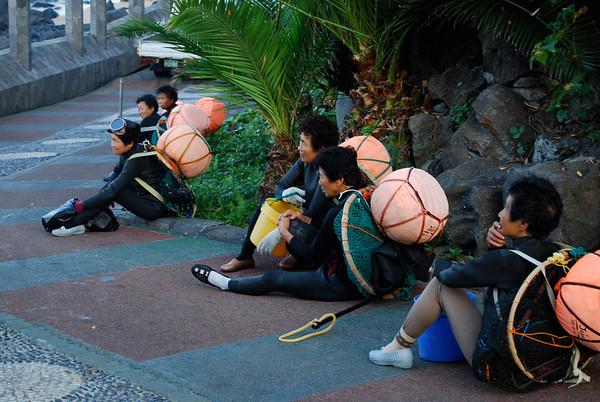 Sights on Jeju Island, South Korea, August, 2008