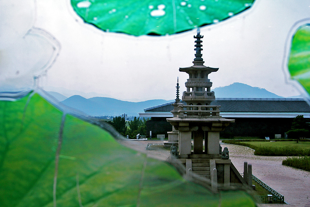 At the Gyeongju National Museum