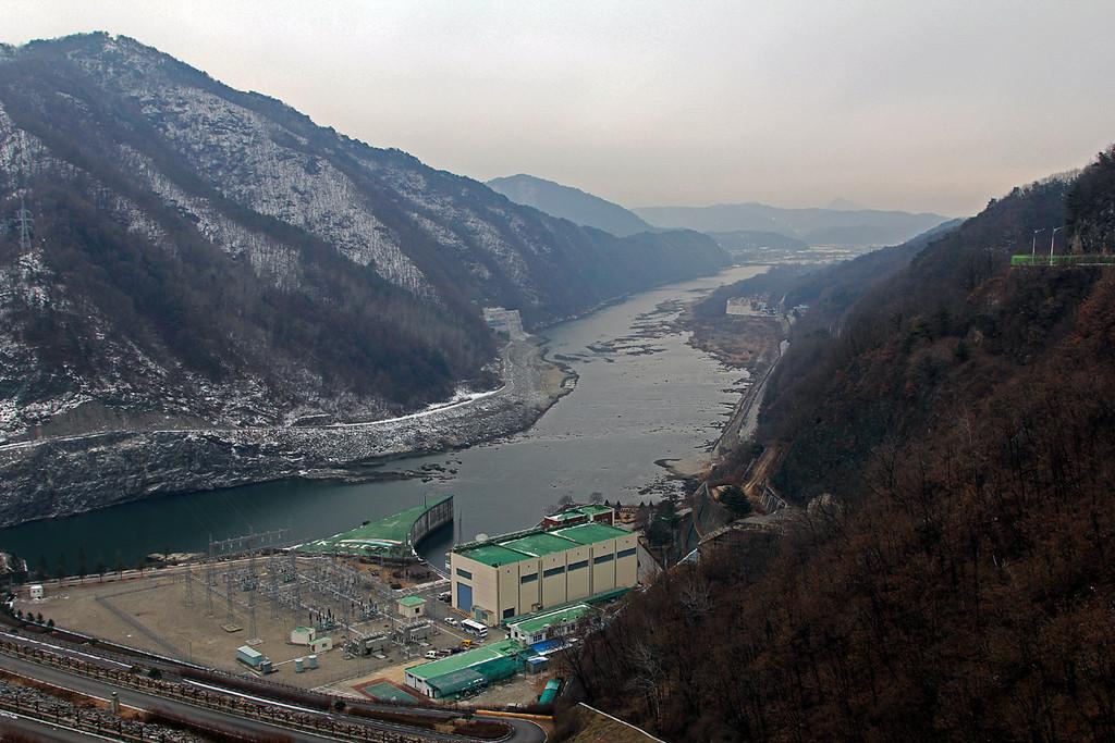Below Soyang Dam
