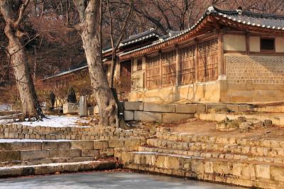 Huwon (secret garden) of Changdeok-gung palace in Seoul