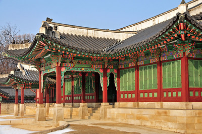 Changdeok-gung palace in Seoul