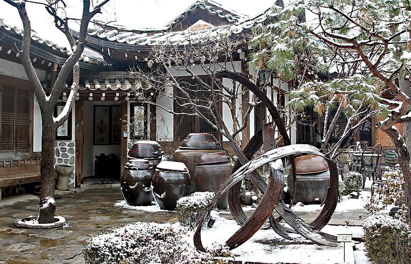 Traditional Tea House - Insadong, Seoul