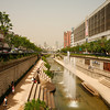 <p>Cheonggyecheon Stream, Seoul, South Korea</p>