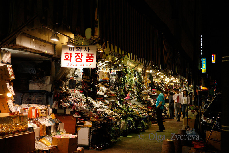 <p>Seoul Market at Night, Seoul, South Korea</p>