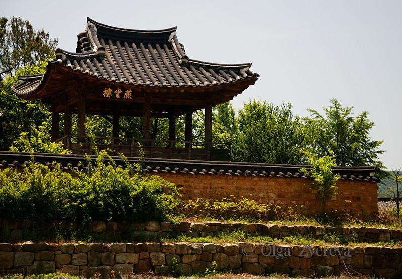 <p>Hahoe Folk Village, Andong, South Korea</p>