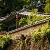 <p>Temple Fence. Bongjeongsa Temple, Andong, South Korea</p>