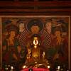 <p>Buddha Statue in Geungnakjeon. Bongjeongsa Temple, Andong, South Korea</p>