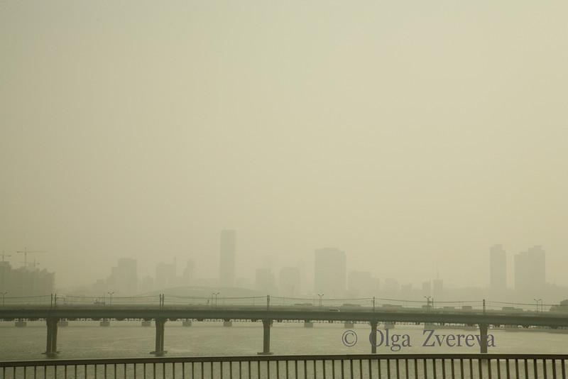 <p>Morning Fog, Seoul, South Korea</p>
