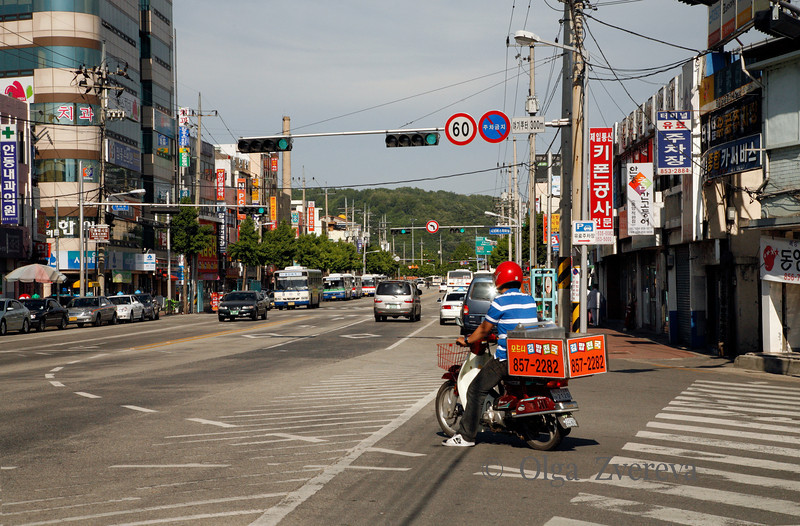 <p>Pizza Delivery. Andong, South Korea</p>