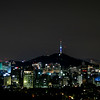 Seoul Tower from Inwangsan (인왕산)