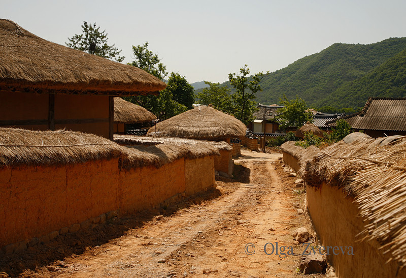 <p>Hahoe Folk Village, Andong, South Korea</p>
