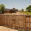 <p>Fence. Hahoe Folk Village, Andong, South Korea</p>