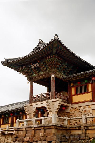 <p>Daewoonjeon Main Hall, Bulguksa Temple, Gyeongju, South Korea</p>