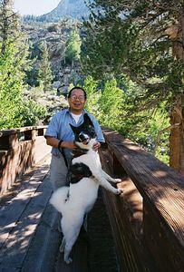 7/1/05 Bridge at Tyee Lakes Trailhead, Bishop Creek Rd to South Lake, Eastern Sierras, Inyo National Forest, Inyo County, CA