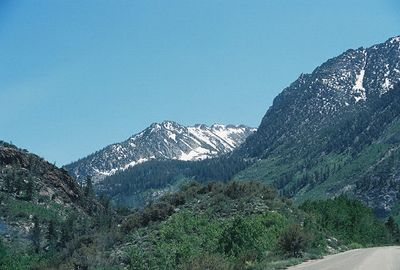 7/1/05 South Lake Road from Hwy 168 to Bishop Creek Lodge & Vicinity
